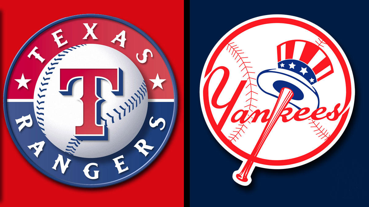 August  Texas Rangers Vs New York Yankees